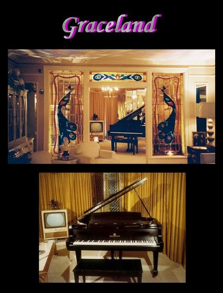 Graceland la maison d elvis presley for Le salon de musique